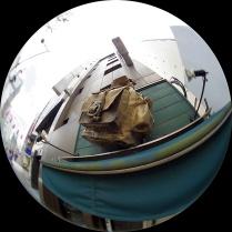 青山通りのお店看板