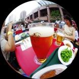 エビスビール祭りでちょっと一杯