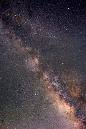 いて座〜わし座の銀河