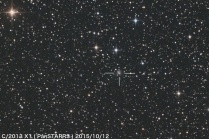 2013X1 パンスターズ彗星、測定不能