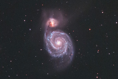 NGC5194(M51)-1604center