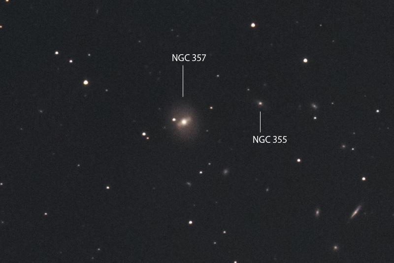 NGC 357, NGC 355, PGC 3853(銀...