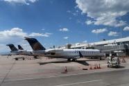 デンバー空港で国内便へ