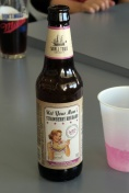 キャスパー空港、地ビールで乾杯