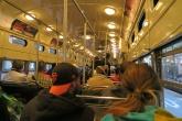 市内の移動は路面電車が便利。
