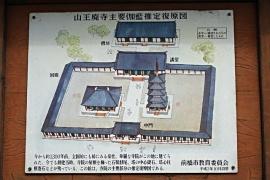 三王廃寺伽藍配置図