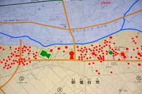 前橋市教育委員会パンフレットの地図